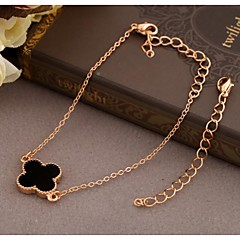 Korea Style Flower Alloy Charm Bracelet(1pc)