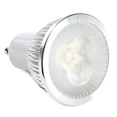 6W GU10 Spot LED 3 LED Haute Puissance 310 lm Blanc Chaud Blanc Naturel AC 100-240 V