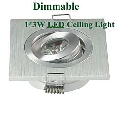 MORSEN 3.0 W 1 Teho-LED 200-300 LM Lämmin valkoinen Upotettu jälkiasennus HimmennettäväUpotetut valaisimet / Kattovalaisimet /