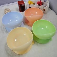 succión tazón taza a prueba de derrames para los animales domésticos (colores surtidos)
