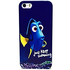 Blue Fish Pattern Hard Case for iPhone 5/5S