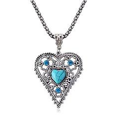 älskar safir Diamond Flower halsband