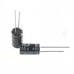 Electrolytic Capacitor  10uF 400V (10pcs)