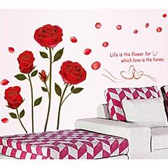 Phnom Penh Romantic Roses Wall Stickers