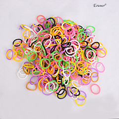 BaoGuang®100pcs Rainbow Color Loom Pearl Fashion Loom Rubber Bands