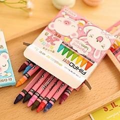 24 Color Children Crayons Set