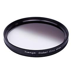 tianya® 67mm cirkulär graderat gråfilter för Nikon D7100 D7000 18-105 18-140 canon 700D 600D 18-135