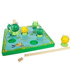 benho bjørk frosk spill tre utdanning leketøy