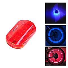 fjqxz vesitiivis punainen pyöräily varoitusvalo takavalo ja 2 kpl sininen pyörä puhui valo with1 pari abs varoventtiili lampun sarja