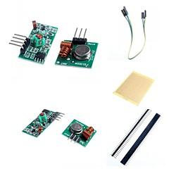 433m superregeneration trådløse senderen modul (innbruddsalarm) og mottaker modul tilbehør for Arduino