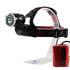 Hoofdlampen LED 3 Mode 980 Lumens Waterdicht / Oplaadbaar / Hoeklamp Anderen 26650Kamperen/wandelen/grotten verkennen / Fietsen / Klimmen