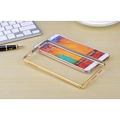 Varten Samsung Galaxy Note Other Etui Bumper Etui Yksivärinen Metalli Samsung Note 3