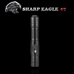 SHARP EAGLE/ZQ-LA-07 Green Laser Pointer(5mw.532nm.1x18650.Black)