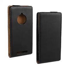 Coco Fun® caso del tirón del cuero de ultra genuina sólida con el cine y cable usb y el lápiz para Nokia Lumia 830