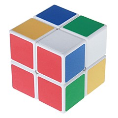 Cubes Magiques IQ Cube Shengshou Deux couches Vitesse Cube de vitesse lisse Magic Cube Puzzle Blanc PVC