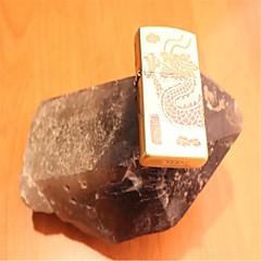 or de dragon dominatrice zippo personnalité de métal léger