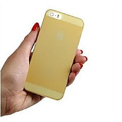 vormor® ultrafino capa de silicone transparente de volta para o iphone 5 / 5s (cores sortidas)