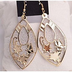 Love Is Your Fashion Earrings And Shiny Drop Earrings(Random Color)