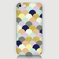 For iPhone 6 etui iPhone 6 Plus etui Mønster Etui Bagcover Etui Geometrisk mønster Hårdt PC foriPhone 7 Plus iPhone 7 iPhone 6s Plus/6