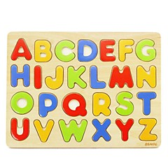 BENHO Plywood ABC Puzzle Wooden Education Baby Toy