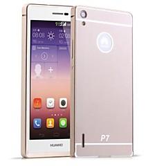 Na Etui Huawei Galwanizowane Kılıf Etui na tył Kılıf Jeden kolor Twarde Akrylowy Huawei Huawei P7