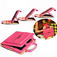 Portable Briefcase Design Folio Stand PU Leather Case for iPad 2/iPad 3/ iPad 4 (Assorted Colors)