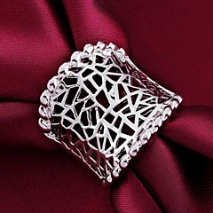925 Silver Classic personality Statement Rings(1PC)