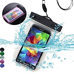 Celular Samsung - Samsung Samsung Galaxy S6/Samsung Galaxy S6 edge - Cases Totais/Bolsas à Prova-de-Água - Côr Única (Preto/Branco/Verde/Azul/Cor de
