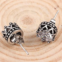 Fashion   As Picture Titanium Steel Stud Earrings(As Picture) (1 Pc)