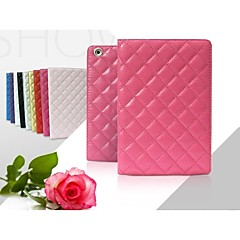 Ultra Slim PU Leather with Hard Back Smart Stand Case Cover for iPad Air(Assorted Colors)