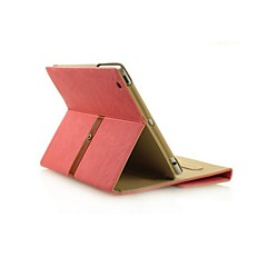Appel iPad Air - Effen Kleuren/Speciaal Design - Smart Covers/Folio Cases/Envelop Cases (Textiel , Rood/Blauw/Bruin/Roze/Grijs)