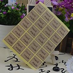 multifunções baking estilo coreano de vedação adesivos decorativos de DIY (20 etiquetas / pcs) (letra: mão make)