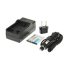 ismartdigi-CAS cnp-120 (600mAh, 3.7v) batterie de l'appareil + bouchon + ue voiture chargeur pour casio TZ20 z690 z680 zs30 ZS20
