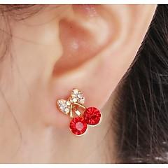 Σκουλαρίκι Σκουλαρίκια με Κλιπ Κοσμήματα 2pcs Γάμου / Πάρτι / Καθημερινά / Causal Κράμα / Στρας Γυναικεία Χρυσαφί