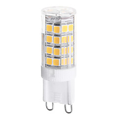 4W G9 LED-kolbepærer T 51 SMD 2835 350 lm Varm hvid Naturlig hvid Vekselstrøm 220-240 V 1 stk.