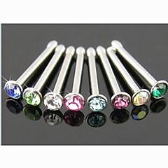 Dame Kropssmykker Næseringe & Stang Næse Piercing Krystal Imitation Diamond Unikt design Mode Smykker Smykker Daglig Afslappet 1 Stk.