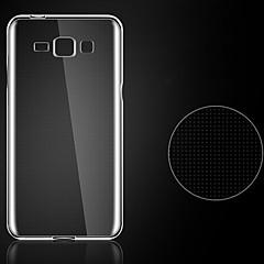 0,3 χιλιοστά εξαιρετικά λεπτό στυλ μαλακό εξώφυλλο ευέλικτη TPU για Samsung Galaxy e7