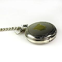 męska mechaniczne stopu wybierania pusta zegarek kieszonkowy