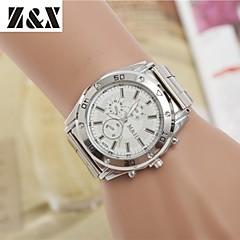 damesmode diamant quartz analoog stalen riem horloge (verschillende kleuren)