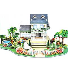 DIY Villa Shaped 3D Puzzle (8 PS)
