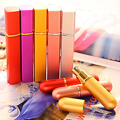 Kosmetikflasker Plastic Kvadrat Forsøg Sølv / Rød / Orange / Gul
