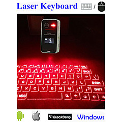 Touch Portable Bluetooth Virtual Laser Projection Keyboard With Lcd For Samsung IPhone Ipad  Laptop Pc