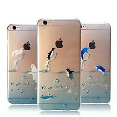 Ozean Tiere ultra-dünnen TPU weiche Fallabdeckung für iphone 6 / 6S (verschiedene Farben)