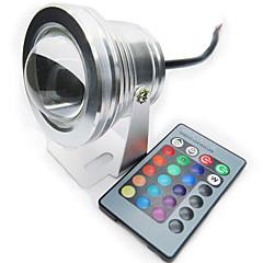 10W RGB Full color IP68 Waterproof Understand LED Lamp spotlight pool light (12V)