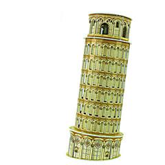 DIY Torre Di Pisa Shaped 3D Puzzle