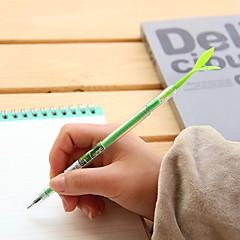 Cute Bean Seeding Stylish Multi Color Gel Pen (Random Delivery)
