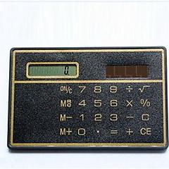 ソーラーカード電卓/ミニカード電卓
