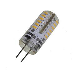 3W G4 LED-lampa T 48 SMD 3014 280-320 lm Varmvit Dekorativ DC 12 / AC 12 V 1 st