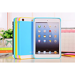 NX Case Mixed Color Soft PC+TPU Detachable Hard Case with Soft Inner Layer for ipad mini1/2(Assorted Color)
