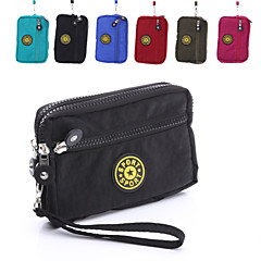 Three Multi-Purpose Leisure Phone Zipper Bag for Samsung Galaxy S6 S5 S6edge S3Mini  Note3  A5 (Assorted Colors)